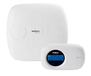 CÓPIA - Kit Alarme Intelbras Amt 2018 E Com 7 Sensores Infra-mag e Acessórios