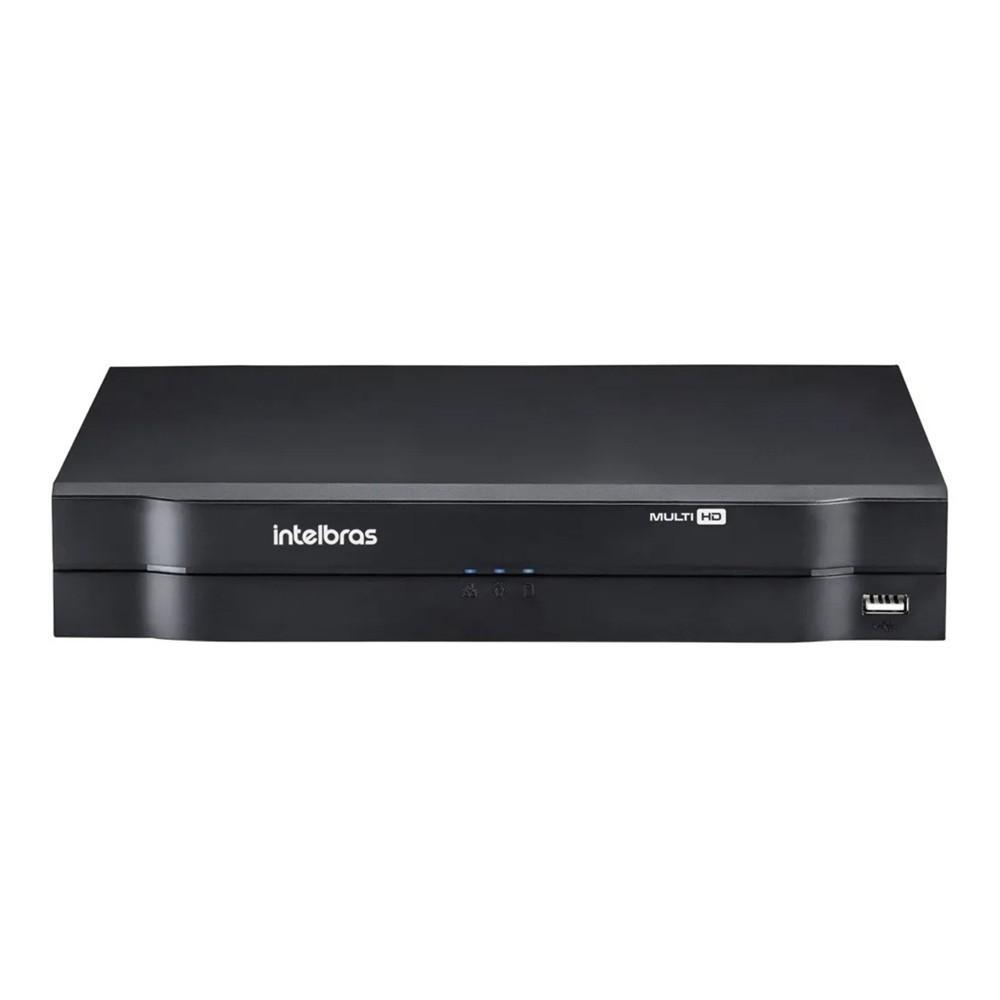 Kit Intelbras 3 Cam 1220b 1080p Ir20m Dvr Mhdx 1104 Top