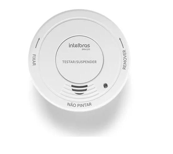 Detector De Fumaça Cozinha Área Serviço C/ Alarme Dfa 620
