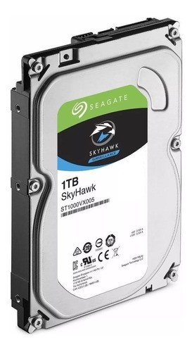 Disco rígido interno Seagate SkyHawk ST1000VX005 1TB