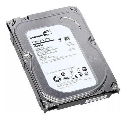 Disco rígido interno Seagate Video 3.5 HDD ST1000VM002 1TB