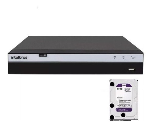 Dvr Intelbras 16ch Mhdx 3116 Full Hd 1080p 5x1 Hd 1tb Purple