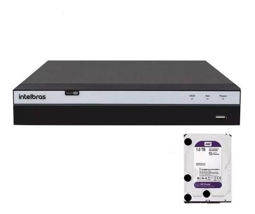 Dvr Intelbras 4ch Mhdx 3104 Full Hd 1080p 5x1 Hd 1tb Purple