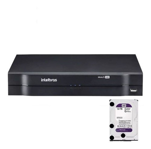 Dvr Intelbras 8ch Mhdx 1108 Cloud Hdcvi Multi Hd 1tb Purple