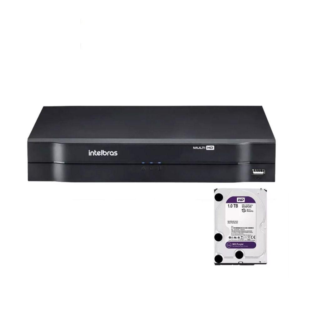 Dvr Intelbras 8ch Mhdx 1108 Cloud Hdcvi Multi Hd 1tb Purple