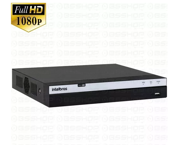 DVR MHDX 3116 Gravador digital de vídeo Com HD 2TB Purple Intelbras