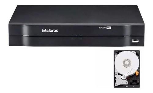 Dvr Wifi Intelbras 4 Canais Mhdx 1104 Hdcvi Hd 500gb