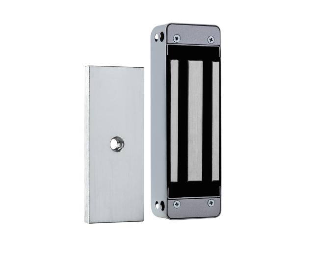 FE 150 Prata Fechadura eletroímã 150 kgf Prata com sensor Intelbras