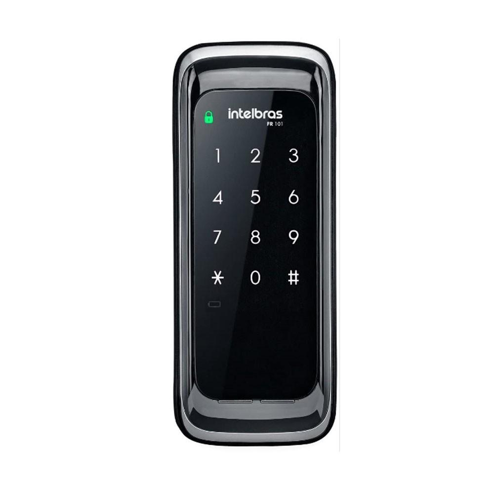 Fechadura Digital Fr 101 Display Senha Touch Intelbras Promo