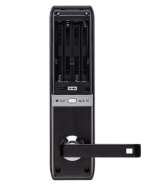 FR 330 Fechadura digital de embutir com biometria Intelbras