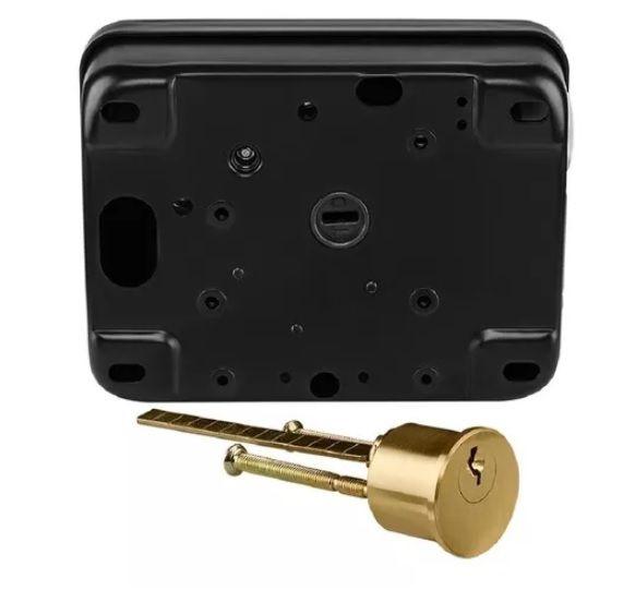 FX 3000 MF Fechadura elétrica com leitor de tag Intelbras