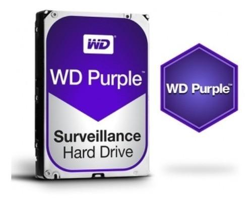 Hd Wd Purple Surveillance Dvr 2tb 64mb Wd20purz Intelbras