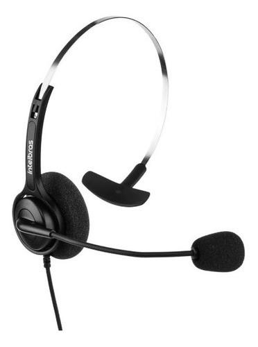 Headset Intelbras Chs 40 Ergonômico Espuma Microfone Rj9