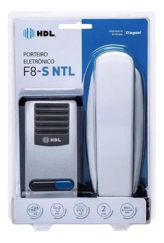 Interfone Residencial Hdl Porteiro Eletrônico F8 S Ntl Az02