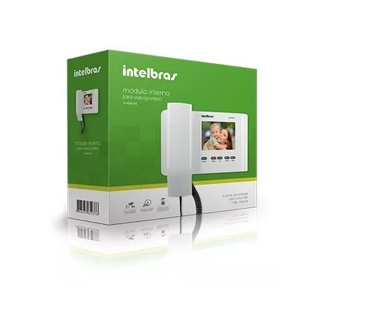 IV 4000 HS IN Módulo Interno para videoporteiro linha IVR 1010 Intelbras