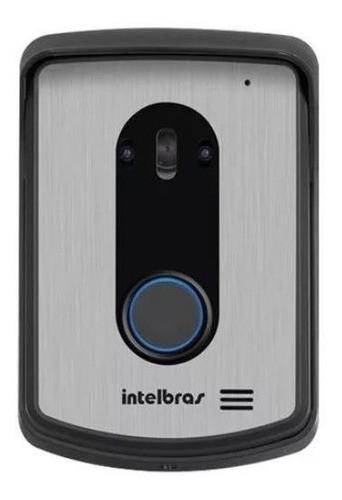 Kit Vídeo Porteiro Visão Noturna Eletrônico Intelbras IV 4010 HS