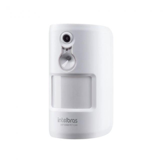IVP 8000 PET CAM Sensor de movimento infravermelho passivo Intelbras