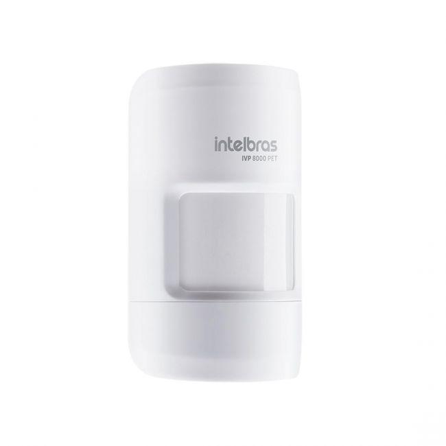 IVP 8000 PET Sensor de movimento infravermelho passivo sem fio Intelbras
