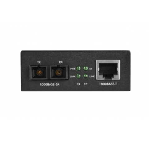 KGM 1105 Conversor de Mídia Gigabit Ethernet Multimodo 0,5 km