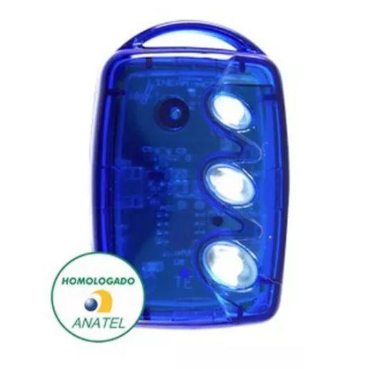 Kit 10 Controle Remoto 3 Teclas Linear HCS Portão e Alarme Linear