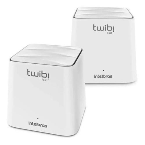 Kit 3 Conjunto Roteador Wireless Mesh Twibi Fast Intelbras 2 Unid