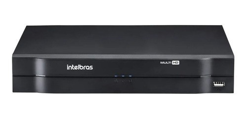 Kit 4 Câmeras Intelbras Vhl 1120 B 720p Dvr 4 Canais S/ HD