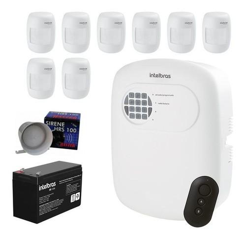 Kit Alarme 08 Sensores e Discadora ANM 3004 ST Intelbras