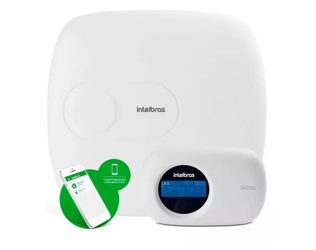 Kit Alarme Amt 2018 E C/ 09 Sensor IVP 5001