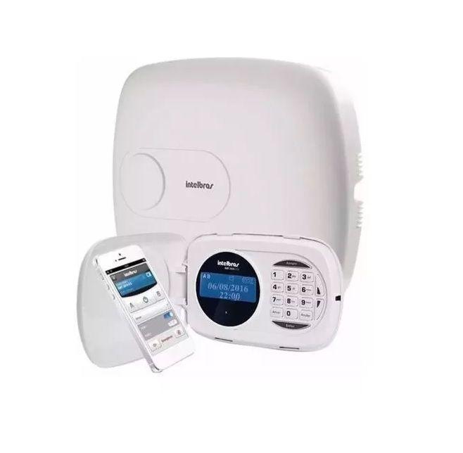 Kit Alarme Amt 2018 E C/ Sensor IVP 5001 Pet e Bateria