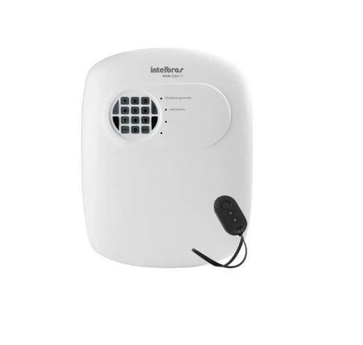 Kit Alarme Com 2 Sensores Sem Fio C/ Discadora Tel Sem Fio
