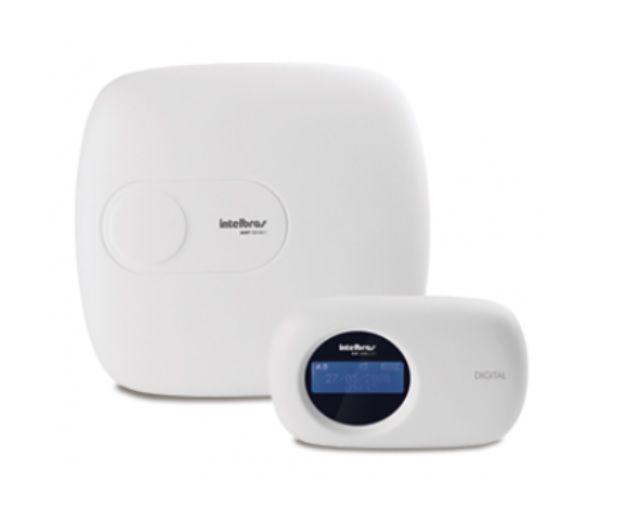 Kit Alarme Intelbras 5 Sensores Sem Fio Central Amt 2018 E