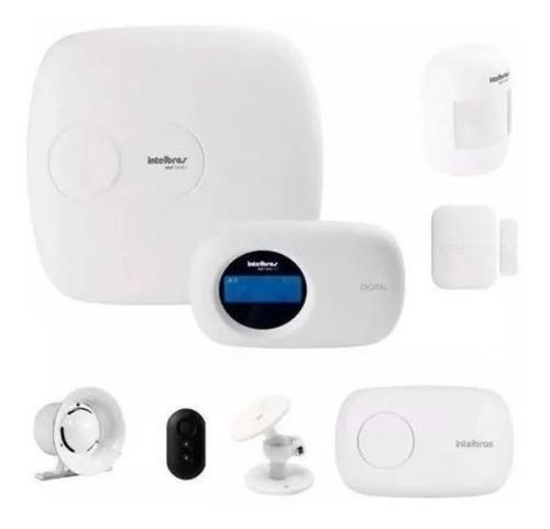 Kit Alarme Intelbras Amt 2018 E Ethernet 7 Sensores e Acessórios