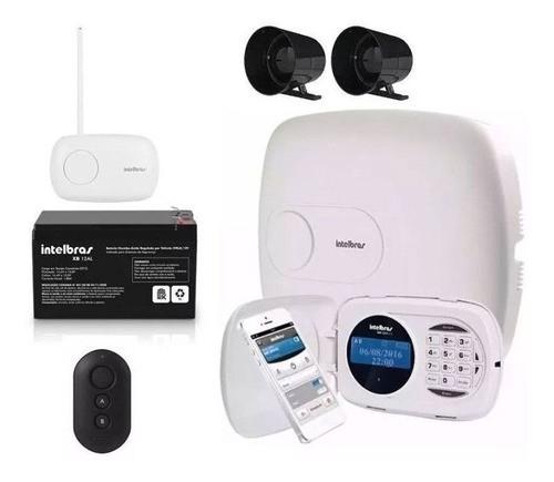 Kit  Alarme Intelbras Amt 2018e 18 Zonas Xar Sirene e Bateria
