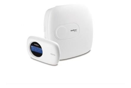 Kit Alarme Residencial 05 Sensores Com Central Amt 2018 E