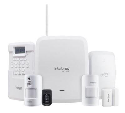 kit AMT 8000 + 5 sensores