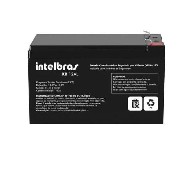 Kit Bateria XB 12AL Intelbras Com Sensor IVP 2000 SF Sem Fio