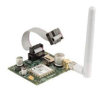 Kit Central Amt 8000 Gprs Com 9 Sensores Infra e Mag Ivp 8000