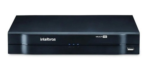 Kit Cftv 3 Câmeras Intelbras Vhl 1120B 20m Dvr 4 Canais S/HD