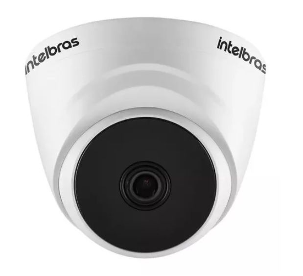 Kit Cftv Intelbras 4 Dome 1220 2 Bullet 1080p Dvr 1108 C/ Hd