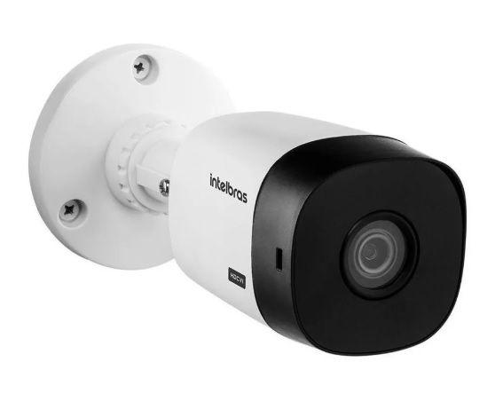 Kit Cftv Intelbras 6 Cam 1220b 1080p Dvr 1108 S/ Hd + Cabo