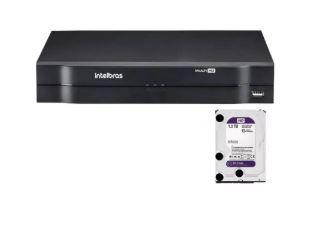 Kit DVR MHDX 08ch c/ HD 1Tb, 4 CAM VHL 1120 B