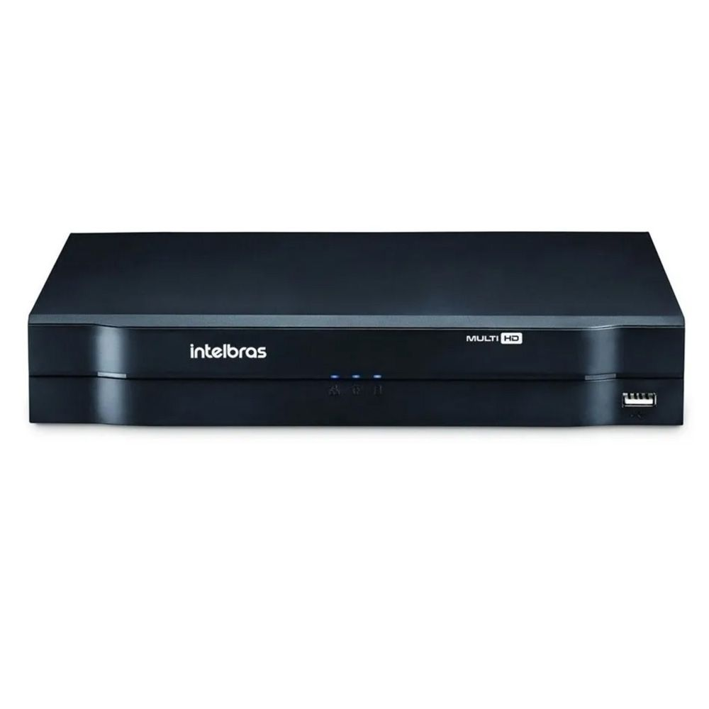 Kit Intelbras 3 Cam 1220b 1080p Ir20m Dvr Mhdx 1104 C/ Hd