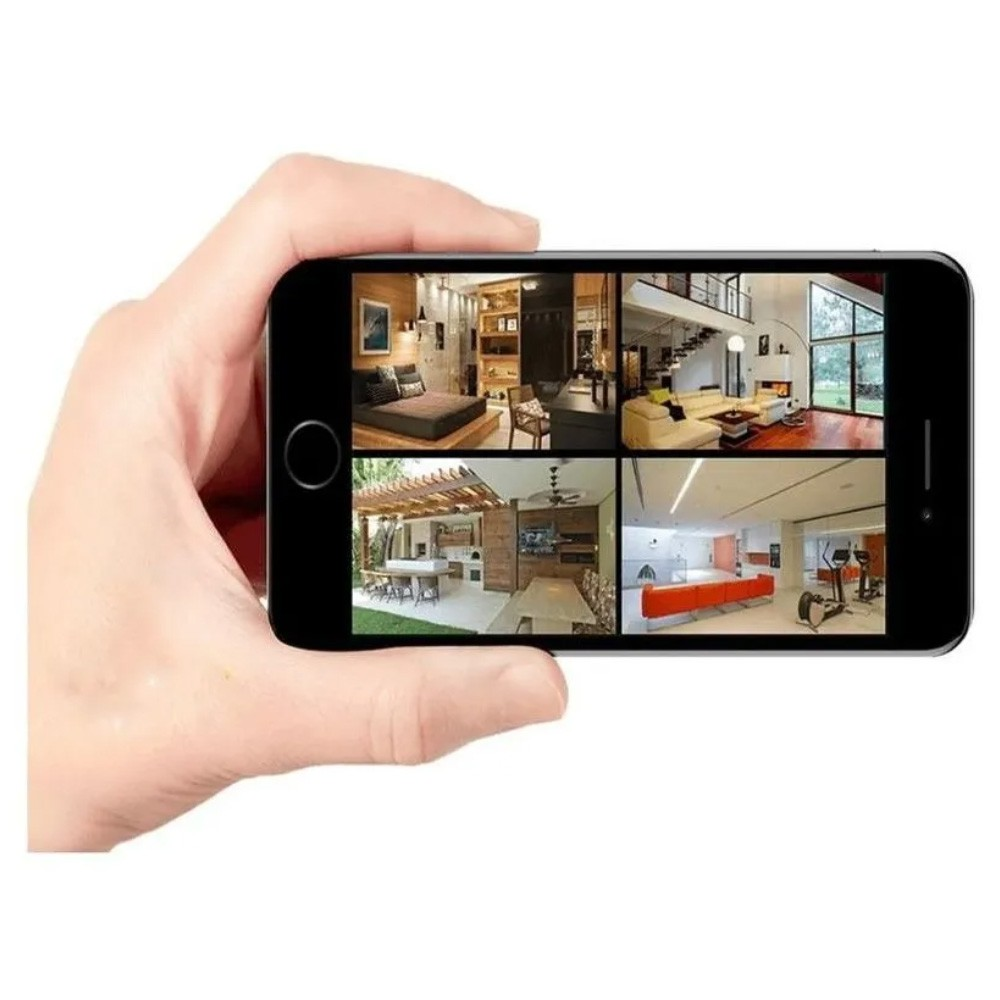 Kit Intelbras 4 Camera Seg 1220b Fullhd Dvr Mhdx 3104 S/HD