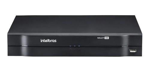 Kit Intelbras Cftv 10 Cam 1120b Dvr 16 Mhdx 1116 1Tb Purple