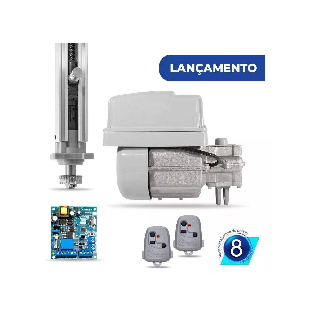 Kit Motor Basculante 1/4 Peccinin P/ Portão Até 2,50 Metros