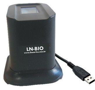 LNBIO LEITOR BIOMÉTRICO USB LINEAR-HCS