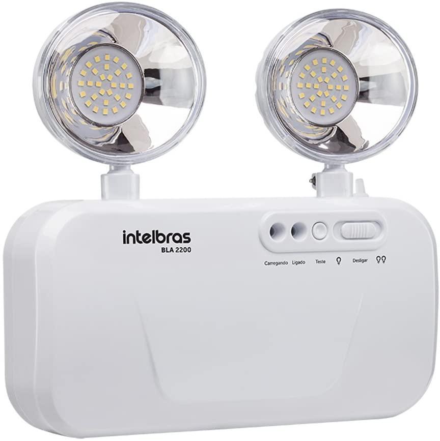 Luminária De Emergência Intelbras Bla 1200 Lumens C/ Bateria