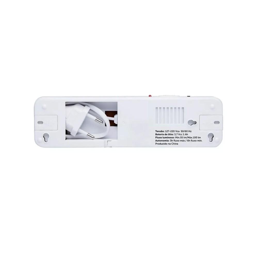 Luminária De Led Intelbras Lde 30l De Emergência Autônoma