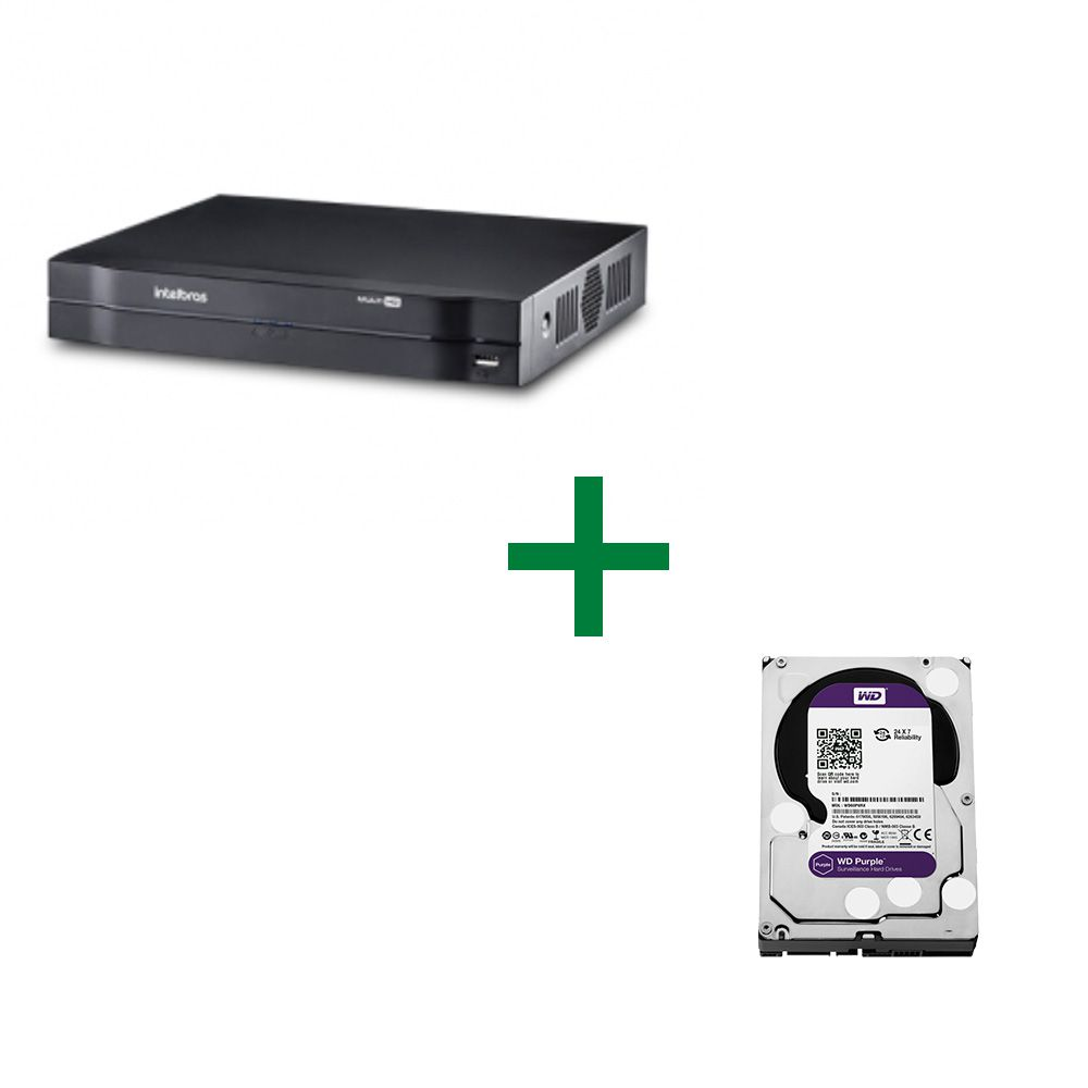 MHDX 1004 Gravador Digital de Vídeo Com HD Purple 1 TB