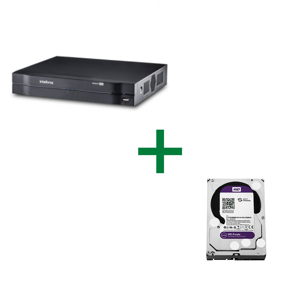 MHDX 1008 Gravador Digital de Vídeo Com HD Purple 2TB